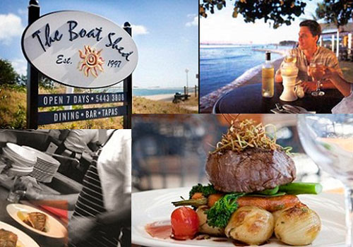 The Boat Shed Restaurant Maroochydore