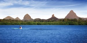 Visit the Glasshouse Mountains