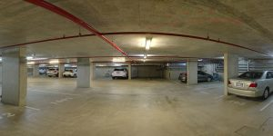 secure parking in our Cotton Tree accommodation