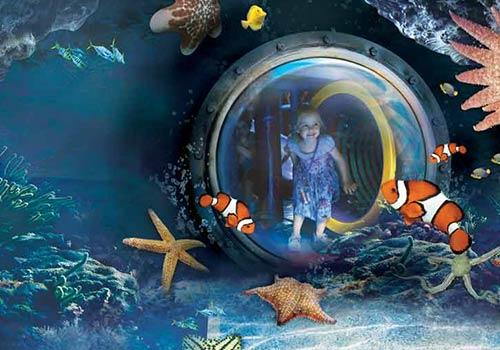 Underwater World near Maroochydore